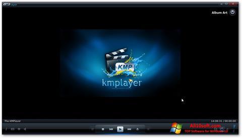 Capture d'écran KMPlayer pour Windows 10