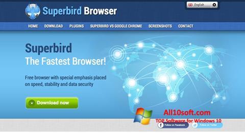 Capture d'écran Superbird pour Windows 10